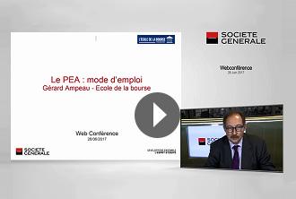 Webconference : les avantages du PEA - Mode d'emploi