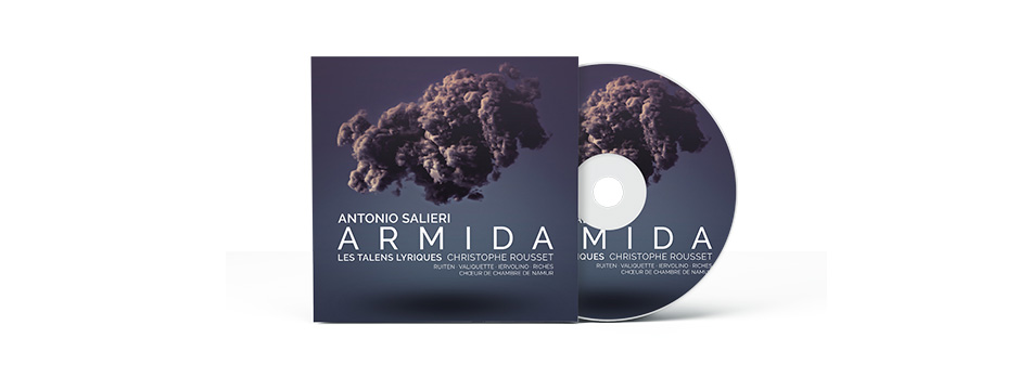 """CD """"Antonio Salieri : Armida"""" 20/09/2021"""