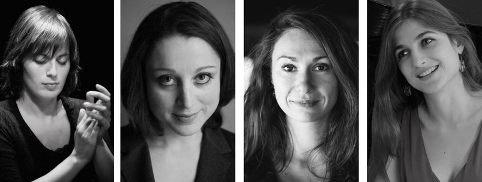 Concert : Vassilena Serafimova, Elisa Humanes, Marie Vermeulin, Maroussia Gentet 03/02/2020