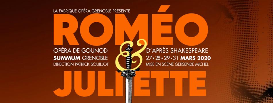 Opéra «Roméo et Juliette» 27/03/2020